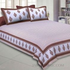 King Size Bed Sheets, Comforters, Blanket, Brown, Prints, Furniture, Home Decor, Creature Comforts, Quilts