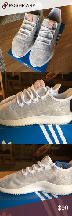 Adidas Tubular Shadow Shoes White/Pale Gray Size: women's 7 but runs big (