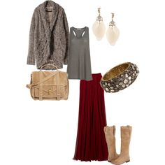 cozy boho fall fashion  ( ... so current, comfortable, my style ... )