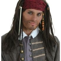 You're not a buccaneer until you're wearing an Authentic Pirate Wig.Think about it, the most respected pirates usually have a head full of thick lush hair. Don't take our word for it. Captain Hook, Black Beard and Jack Sparrow all say (and look) the same. Take some advice from some of the most in...