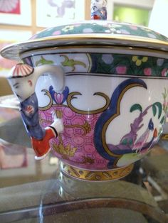 Herend China Such Beautiful and fun details added that makes it a great piece for service and amuse dinner guests.