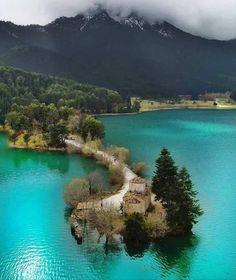 Λίμνη Δόξα Greece Travel, Countries Of The World, Beautiful Places, Beautiful Scenery, Travel Destinations, Places To Visit, Visit Greece, Travelogue, Lakes