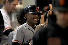 The Giants put Arias on the DL list.