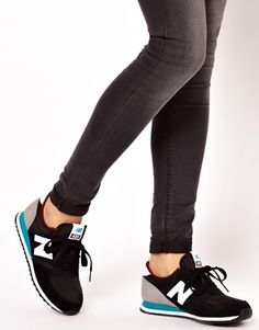 New Balance 420 Black/Gray Sneakers  ugh, i've never wanted a pair of sneakers so badly