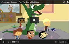 I used this in my classroom this week and the kids loved it! Classroom Manners - Can You Teach My Alligator Manners? - Disney Junior Official by rae Classroom Rules, Classroom Behavior, Kindergarten Classroom, School Classroom, Classroom Organization, Classroom Management, Behavior Management, Classroom Expectations, Disney Classroom