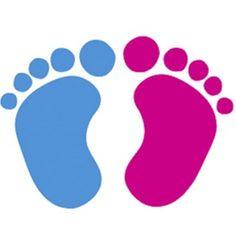 baby feet clip art vector clip art online royalty free public rh pinterest com baby feet clipart blue baby feet clipart free