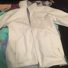 Columbia Omni Heat white jacket Brand new. I bought it for my birthday but too big. Has tags. Columbia Jackets & Coats
