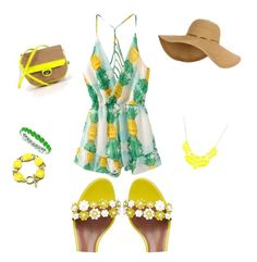 """""""Untitled #11"""" by serena-balzano on Polyvore featuring Tabitha Simmons, Forever 21 and Allurez"""