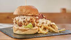 Αυτά είναι τα καλύτερα μπέργκερ και πίτσες της Αθήνας! - Εστιατόρια - αθηνόραμα Pulled Pork, Ethnic Recipes, Food, Shredded Pork, Essen, Meals, Yemek, Eten, Braised Pork