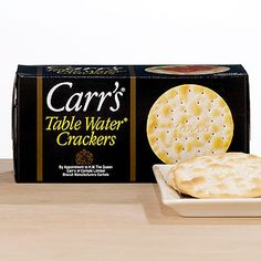 Carr's Mini Table Water Crackers; These crackers are wonderful when you have a very flavorful cheese or spread you want to bring out that flavor!