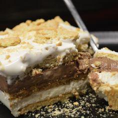 Σαν - Μιλφειγ με κρεμα Σοκολατα & κρεμα Βανιλια - ΓΡΗΓΟΡΟ με Πτι Μπερ.