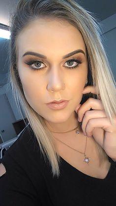 @_thaisrenata_, linda demais, com uma make bem suave, que fica perfeito para as noivas... 😍😍😍 #makeupartist #loucaspormaquiagem #catharinehill #lovemakeup #anastasiabeverlyhills #maccosmetics #kryolan #dermacol #amomaquiagem #tarte #makeupumuarama #urbandecay #academiamakeup #salãoduquese