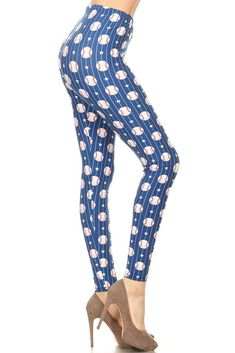 95f5809906 Matching Mommy and Me Clothing Baseball Printed Leggings Best Prices –  MomMe and More Holiday Leggings