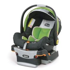 Chicco Keyfit 30 Infant Car Seat.   Love it in Midori!  With its removable newborn insert, the Chicco KeyFit 30 Infant Car Seat will accommodate your baby from 4 to 30 pounds