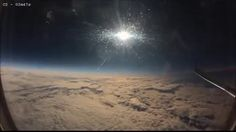 Eclipse from a plane