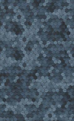 Ivy Bronx Lindale Hexagons L x W Glitter Wallpaper Roll