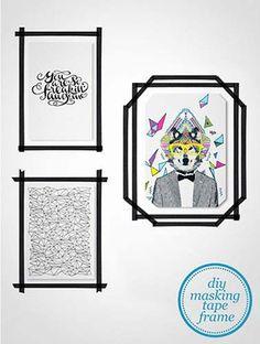 Sabia que dá para usar fita isolante na decoração de forma bem criativa? Confira ideias bem bacanas e inspire-se.