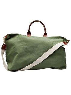 CLARE VIVIER Weekender Bag ~ this bag is fab; leather or canvas...I LOVE MINE!!