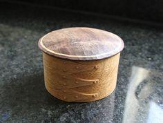 Round Carved Box by Tomoharu Funahashi at OEN Shop