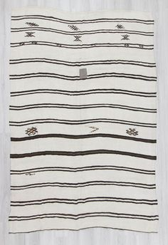 Handwoven Vintage Decorative Modern Turkish Blanket Kilim Rug Rugs And