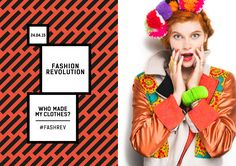 Fashion Revolution recently launched an experiment regarding how much consumers really know about who makes their clothes. Slow Fashion, Ethical Fashion, Fashion Fashion, Fashion Ideas, Vintage Fashion, Fashion Events, Fashion Styles, Fashion Outfits, Social Marketing