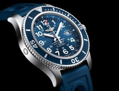 Breitling Superocean II 44 - Water-resistant watch with decompression valve
