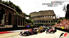 Colosseum Gran Prix, Rome 2015 by Gabriele Voltaggio, via Behance