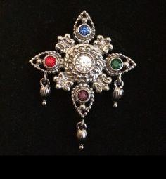 Bob Mackie jewellery - Kaleidoscope effect