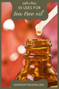 Tea tree oil is just something you need to keep on hand! It's so versatile. Now I want to show you 25 uses for tea tree oil.
