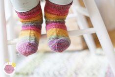 Ohuet villasukat lapselle  