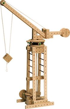 A Model Crane Possible Use Of My Material Cast Polyamide Which I Can Produce For The Cogs And Wheels
