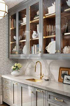 20 Magnificient Pantry Interior Design Ideas For Home Pantry Interior, Kitchen Interior, Bar Interior, Interior Paint, Interior Ideas, Home Decor Kitchen, Home Kitchens, Kitchen Hutch, Kitchen Ideas