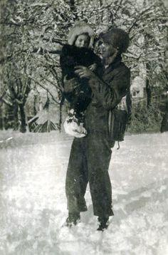 Winter 1944 in Sainte-Mère-Eglise.