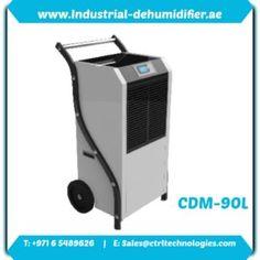 CMD-90L industrial dehumidifier in UAE. CMD-90L industrial dehumidifier in UAE.