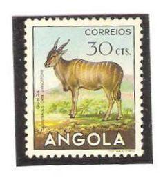 Angola 1953, 30Cts. Eland.