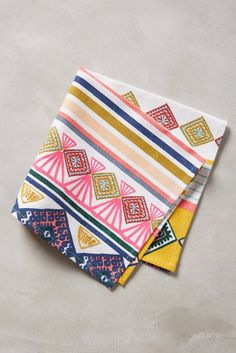 34 Stunning Napkins to Set Out for Supper via Brit + Co