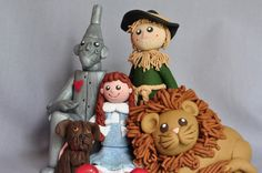 Wizard of Oz Clay Figurine by APieceofLisa on Etsy