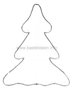 weihnachtsbaum vorlage 10
