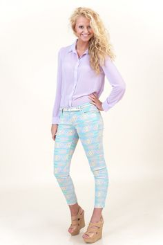 Fairly Extraordinary Jeggings, want these pants!!