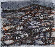 Frank Auerbach, British Artists, Welsh, Painting & Drawing, Childhood Memories, City Photo, Mixed Media, Landscapes, Flaws