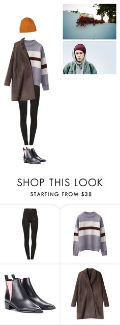 """""""Без названия #1916"""" by asmin ❤ liked on Polyvore featuring Isabel Marant, WithChic, Acne Studios, Zero + Maria Cornejo, Patagonia, men's fashion, menswear, even, skam and isak"""