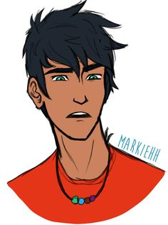 An old picture of Percy that I found floating around on my computer! I was practicing different expressions but never got past this one.