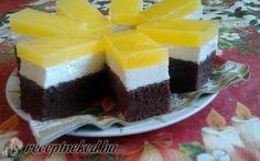 Fanta szelet recept Nyomj egy lájkot,ha Te is szereted Cake Recept, Hungarian Recipes, Hungarian Food, Cake Bars, Dessert Recipes, Desserts, Cheesecake, Food And Drink, Sweets