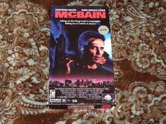 McBain (VHS, 1992) OOP 1st MCA Walken/Steve James/Michael Ironside! *NOT ON DVD*