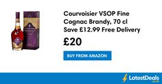 Courvoisier VSOP Fine Cognac Brandy, 70 cl Save £12.99 Free Delivery, £20 at Amazon
