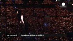 Miles de personas se concentran en Hong Kong en recuerdo de las víctimas de la plaza de Tiananmen