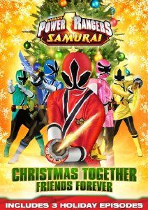Amazon.com: Power Rangers Samurai: Christmas Together, Friends Forever DVD: n/a: Movies & TV