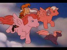 Flight to Cloud Castle Part 1 My Little Pony Episode