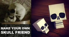 If you've got nobody then what you need is a Skull Friend!  This would be fun for a Sherlock party.