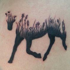 My horse tattoo ❤️